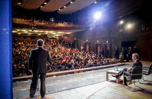Встреча с президентом Украины П. Порошенко в городе Бельцы