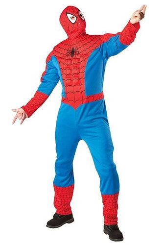 Мужской карнавальный костюм Человек паук