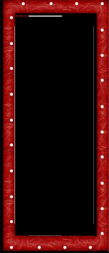 рамки красные