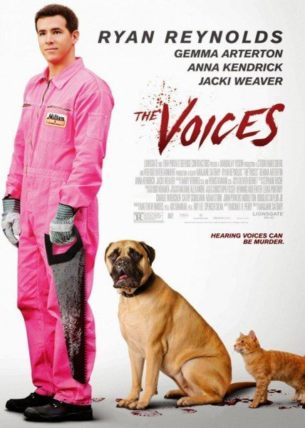 Голоса / The Voices (2014) WEB-DLRip/WEB-DL 720p