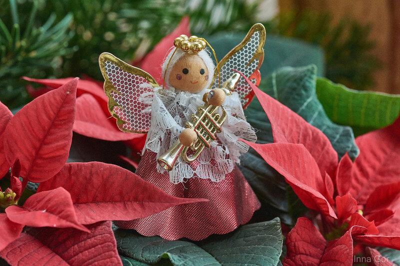 Рождественский Ангелочек.