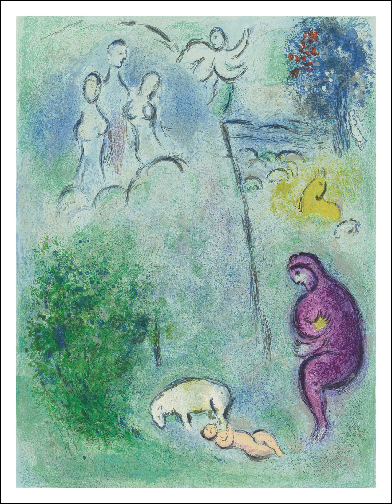 Marc Chagall. Dafni e Cloe