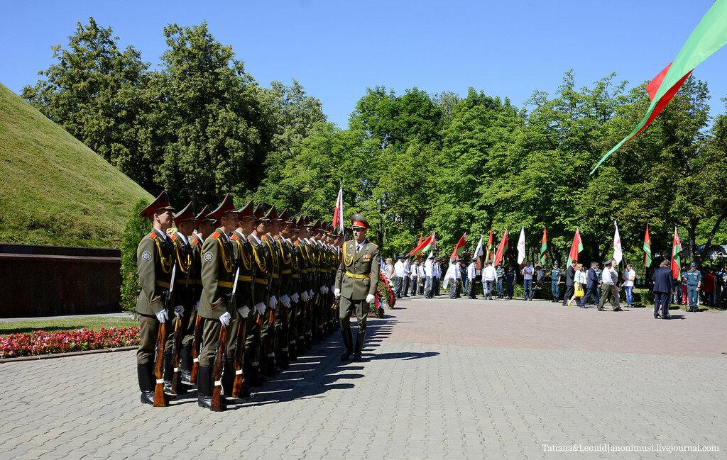 День Независимости-Митинг памяти. Курган Славы.