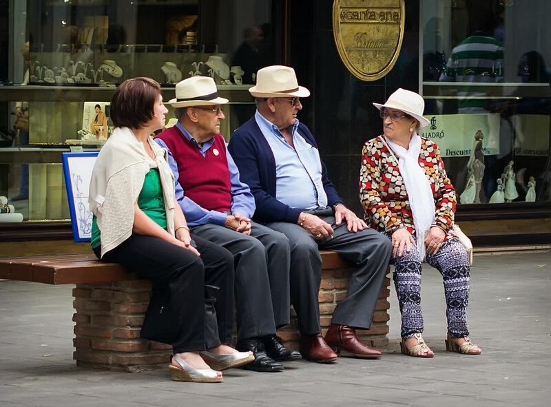 севильские пенсионеры...