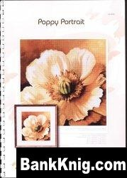 Журнал Буклет схем вышивка крестом POPPY PORTRAIT jpg  14Мб