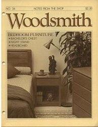 Журнал Woodsmith №34 1984