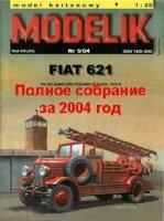 Книга Полное собрание масштабных моделей от MODELIK за 2004 год