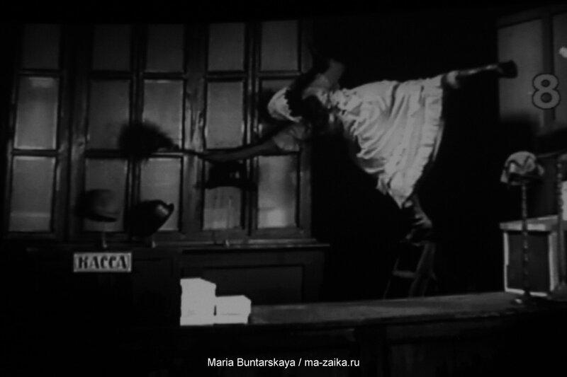 Немое кино. Живая музыка. 'Девушка с коробкой', дом Кино, 29 октября 2015 года