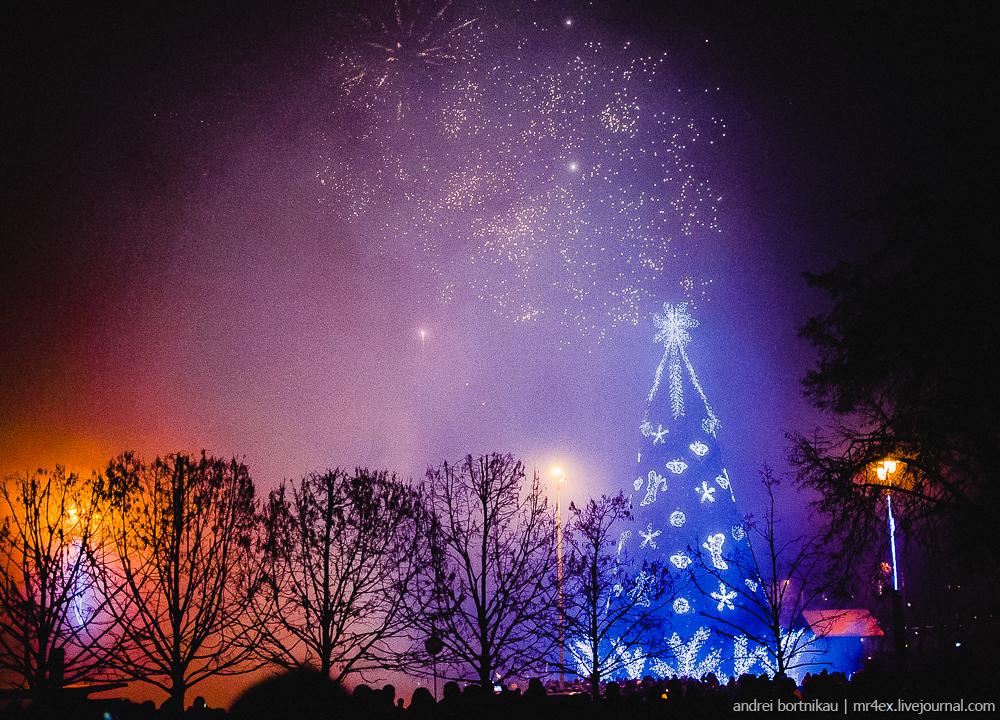 Vilnius, Вильнюс, Новый год в Вильнюсе, Новый год в Литве, фейерверк, fireworks