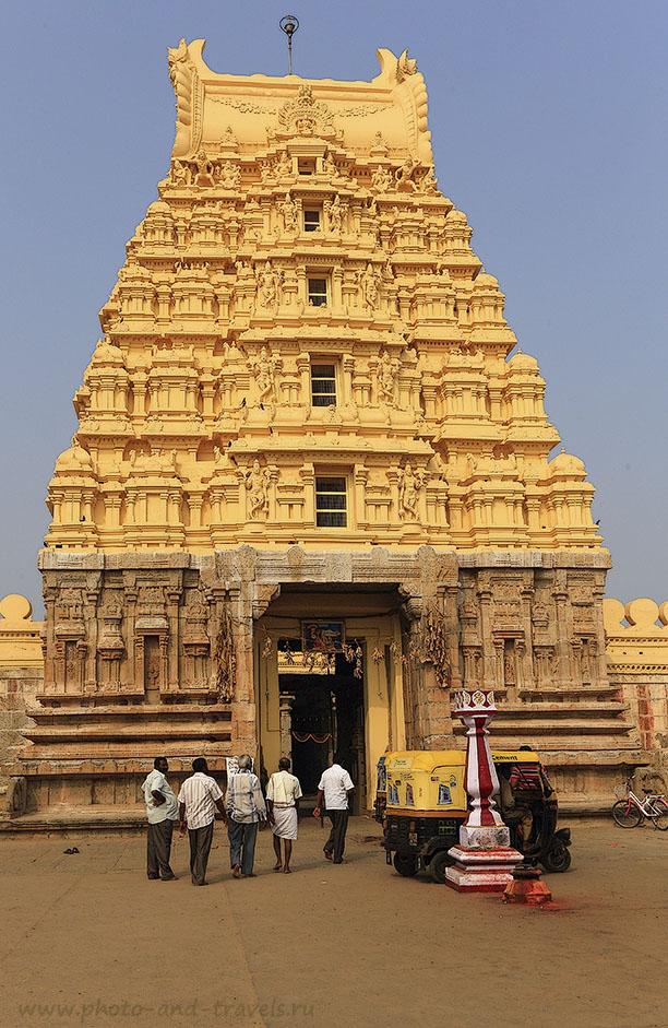 Фото 3. Отзывы о поездке по Индии в штат Карнатака. Город Шрирангапатнам. Гапурам Шри Ранганатхасвами. 1/160, -1 EV, 13.0, 100, 31.
