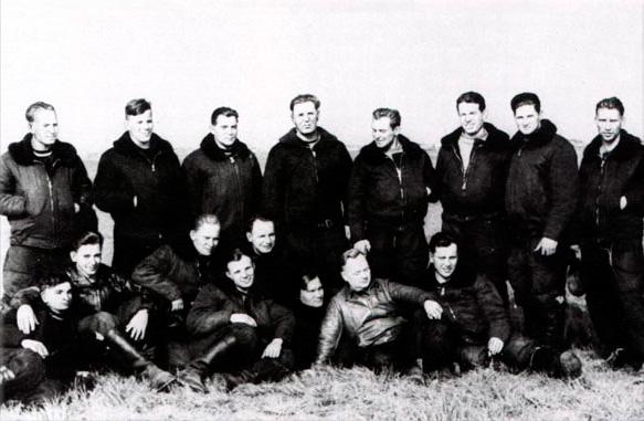 Юрия Гагарин в отряде лётчиков-испытателей