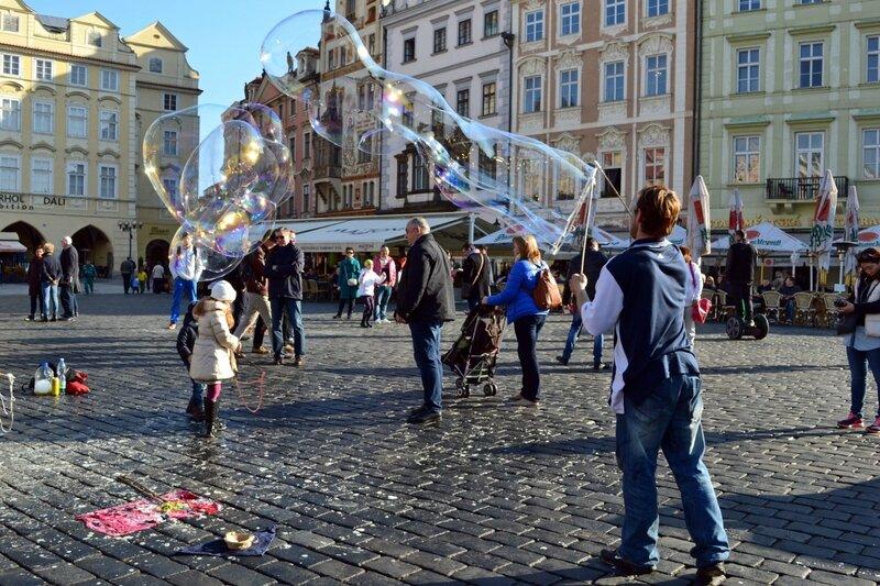 На Староместской площади