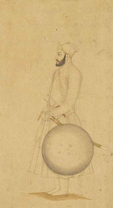 Могольский дворянин, Северная Индия, XVIII век — public domain