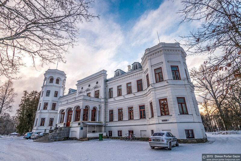 Эстония. Мыза Пуурмани или Замок Тальхоф