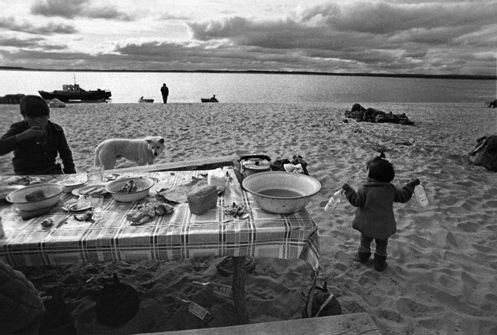На реке Лене. 1970-е