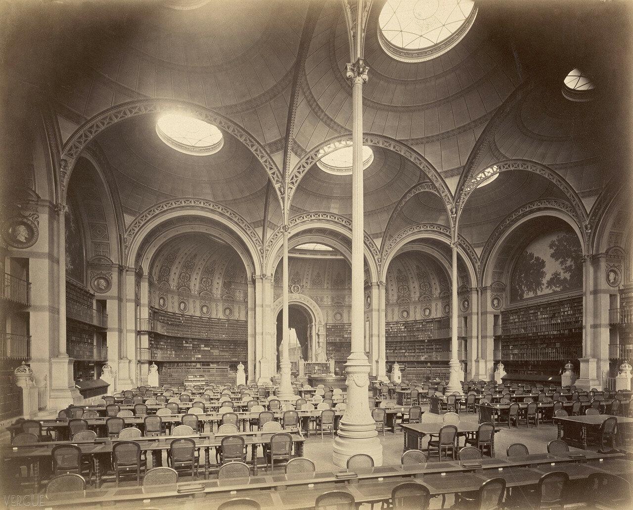 1870. Императорская библиотека. Интерьер