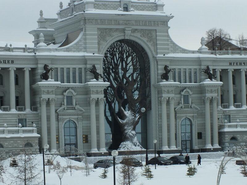 Фрагмент дворца земледельцев.