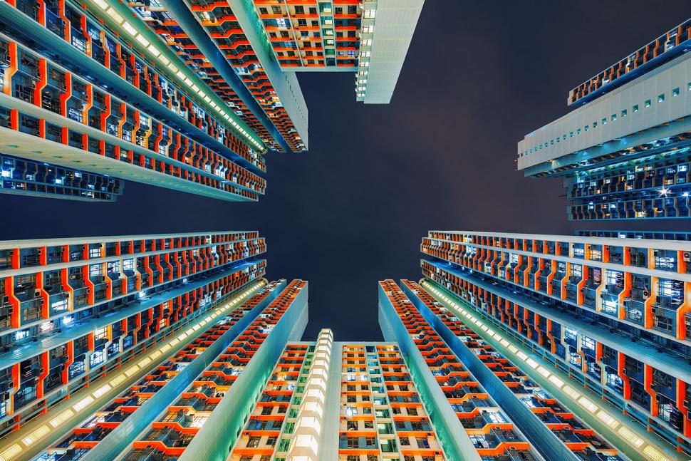 Головокружительный Гонконг. Питер Стюарт (40 Фото)