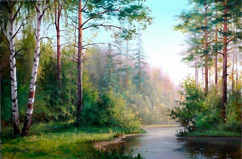 Белорусский художник Олег Чувашев. Нежные пейзажи и натюрморты 0 1110bb b210e011 XL