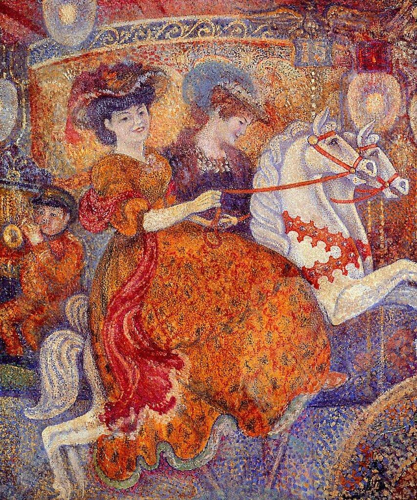 Georges Lemmen - Carnival - The Carousel, 1890-92.jpeg