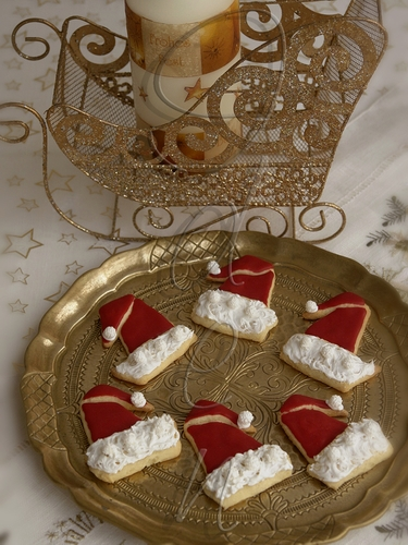 Печенье «Красные колпачки» - Rote Zipfelmützen