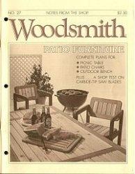 Журнал Woodsmith №27 1983