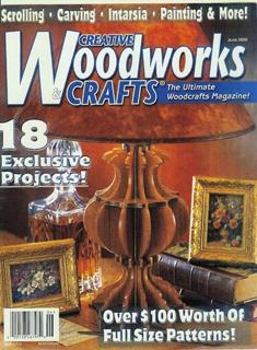 Журнал Журнал Creative Woodworks & Crafts №6 2000