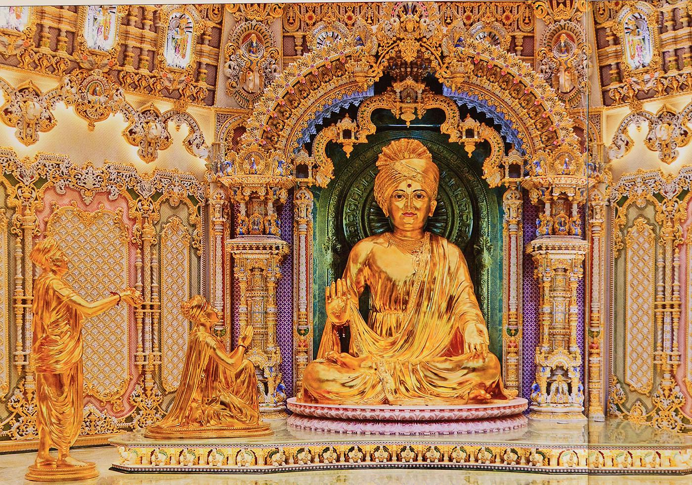 Фотография 19. Иллюстрация из путеводителя по Дели. Храм Акшардхам