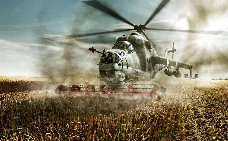Вертолеты Ми-24: советские комбайны с вертикальным взлетом (4)