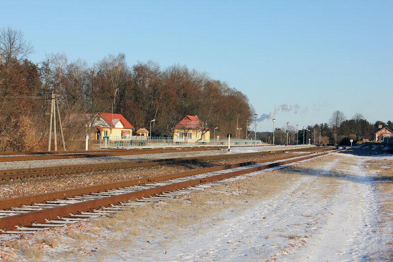 Панорама станции Прибор