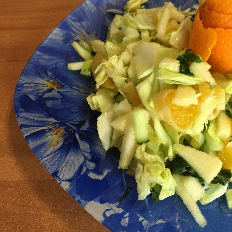капуста яблоко апельсин диета