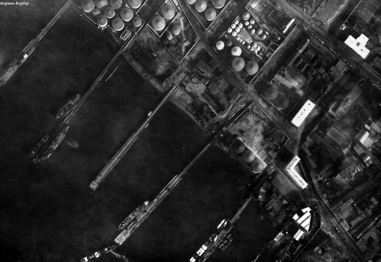 Аэрофотосъемка пристаней в Черном городе