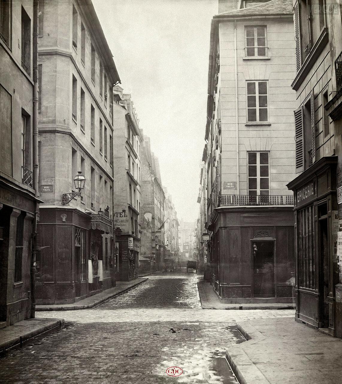 Рю Вербуа. 1866