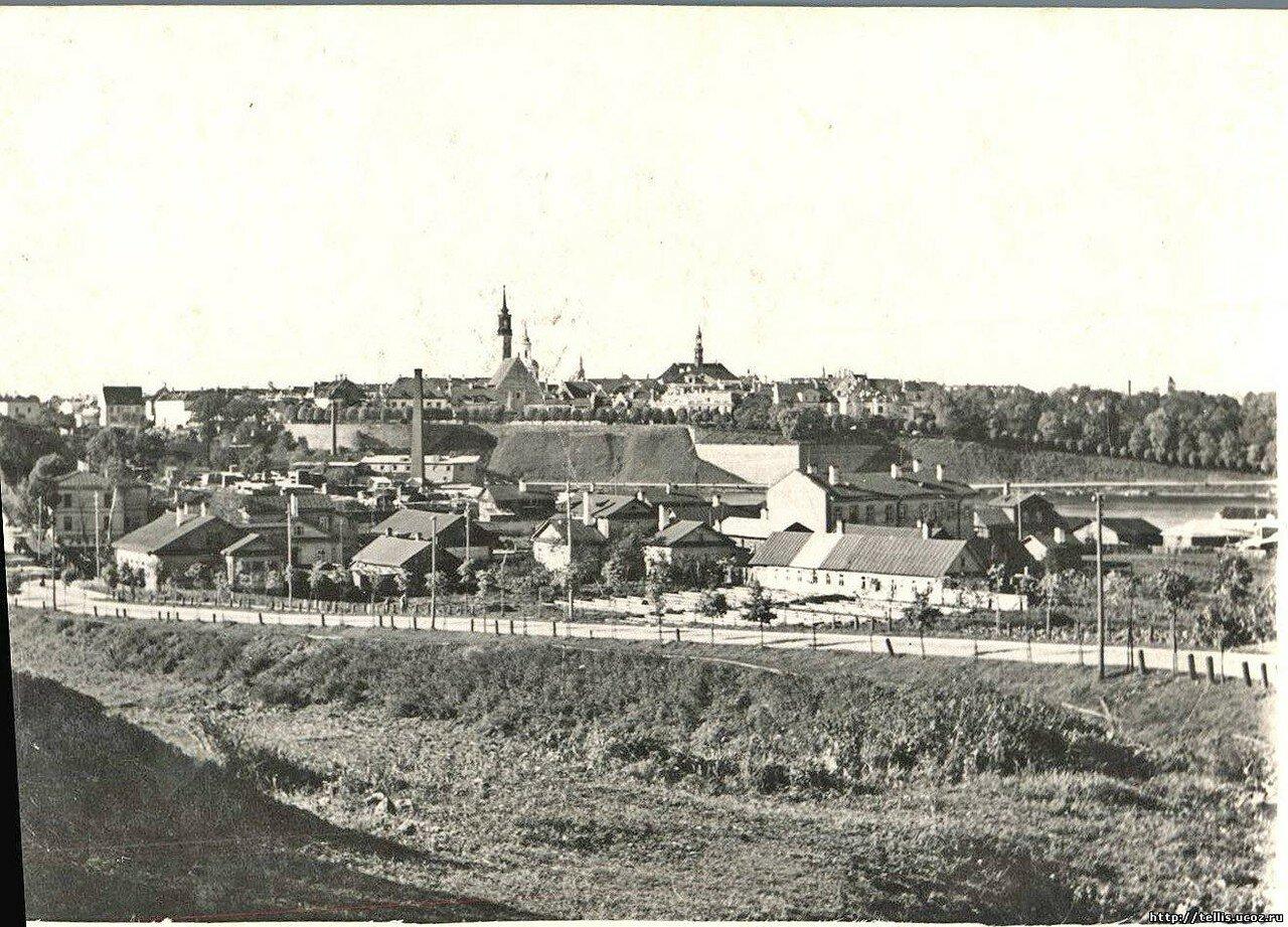 Панорама Нарвы из Ивангорода