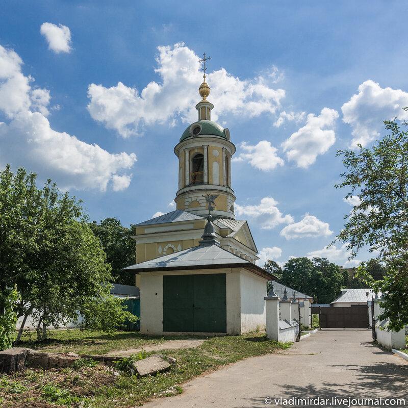 Монастырская постройка у святых ворот Свято-Екатерининского монастыря