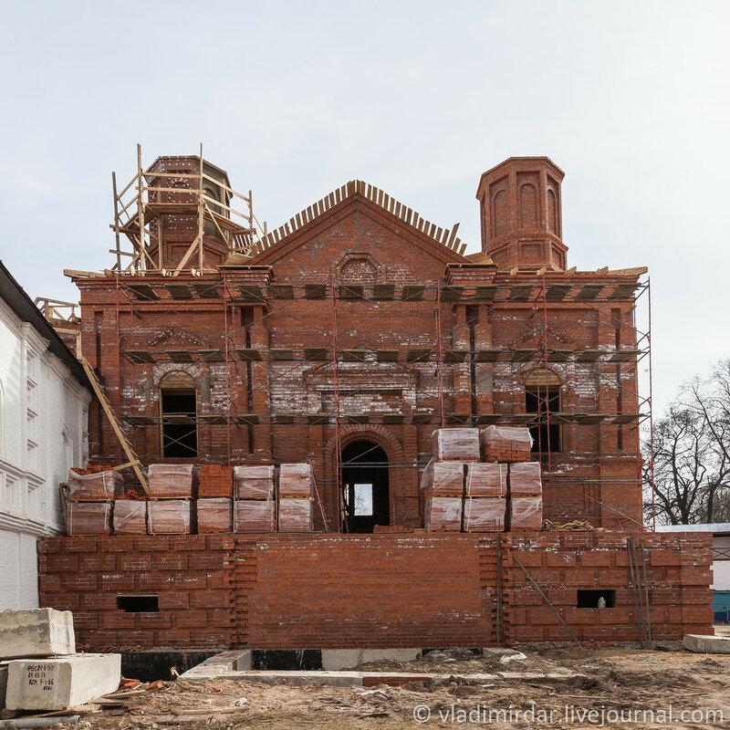 Церковь Рождества Богородицы в Ипатьевском монастыре. Кострома.
