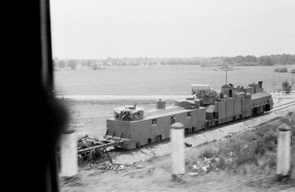 Легкий бронепоезд №17. Украина, лето 1941 года.