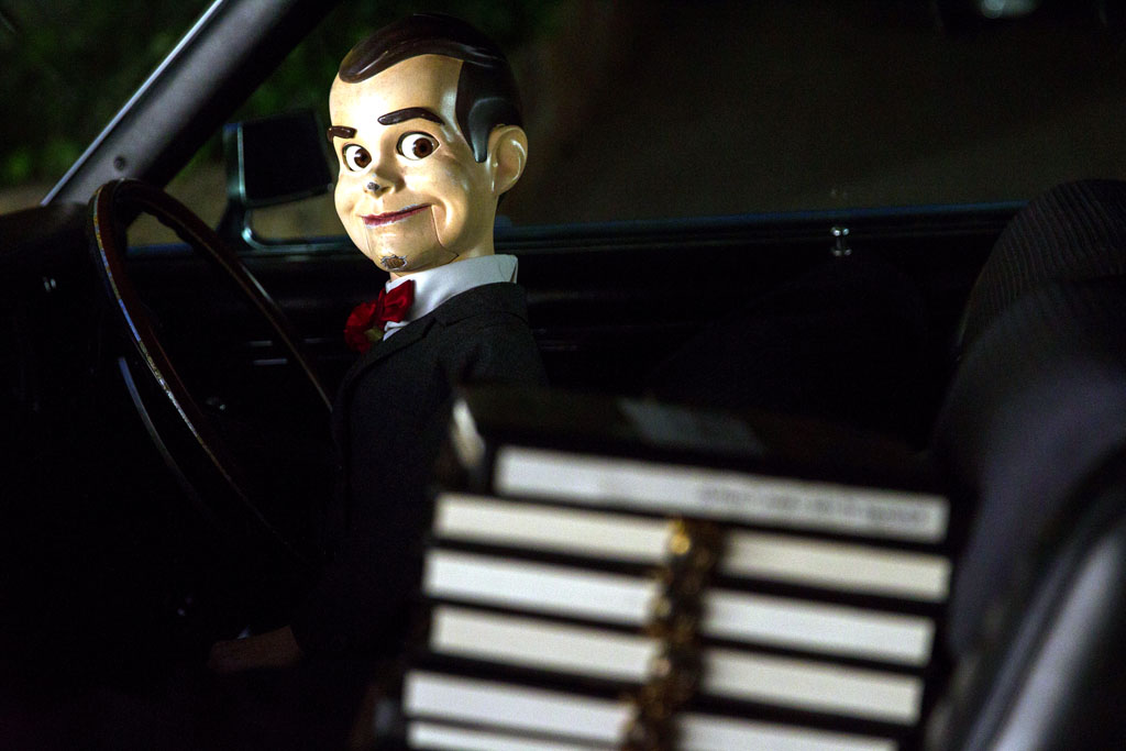 "Slappy in Columbia Pictures' ""Goosebumps,"" starring Jack Black. - Goosebumps"