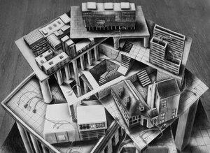 Оптические иллюзии, выходящие за границы бумаги