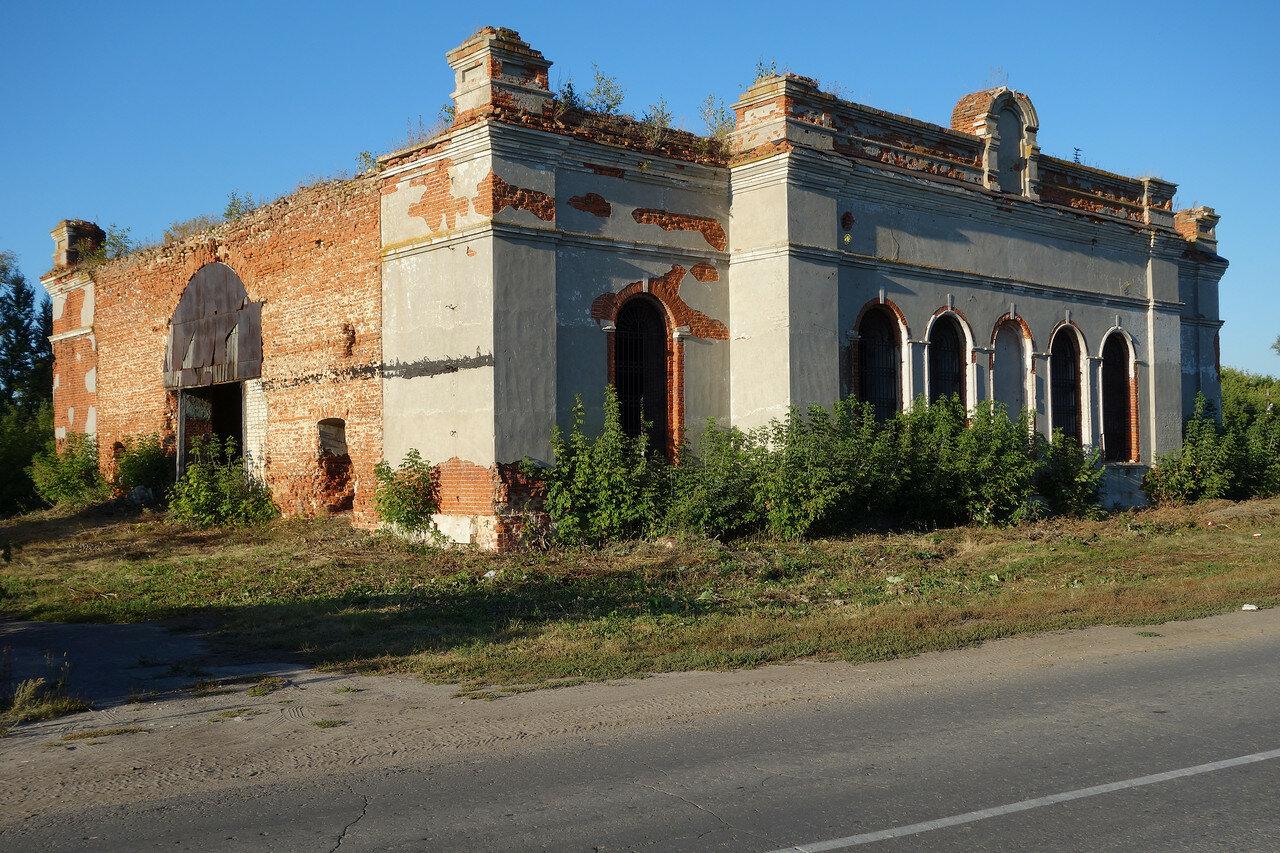 развалины храма в селе Горлово