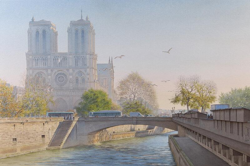 Un matin sur Notre Dame de Paris