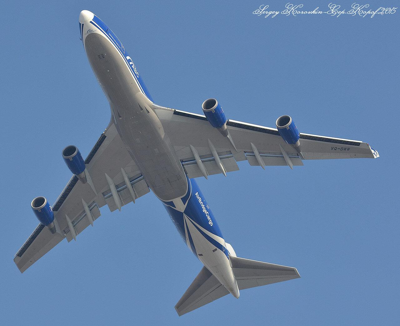 Boeing 747-406F(ER) AirBridgeCargo VQ-BWW