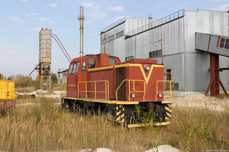ТГМ23В48 карьероуправления в Великодворье