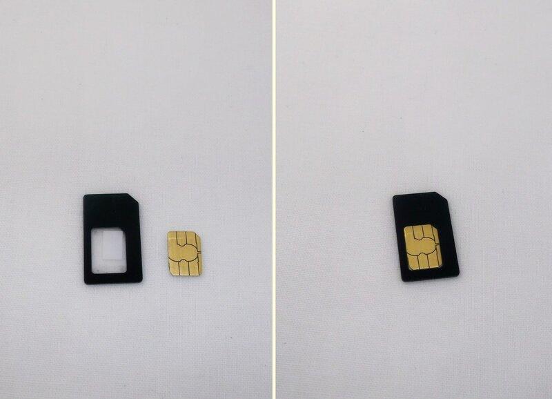 ChinaBuye: Обрезчик SIM карт и набор адаптеров для обратной конвертации