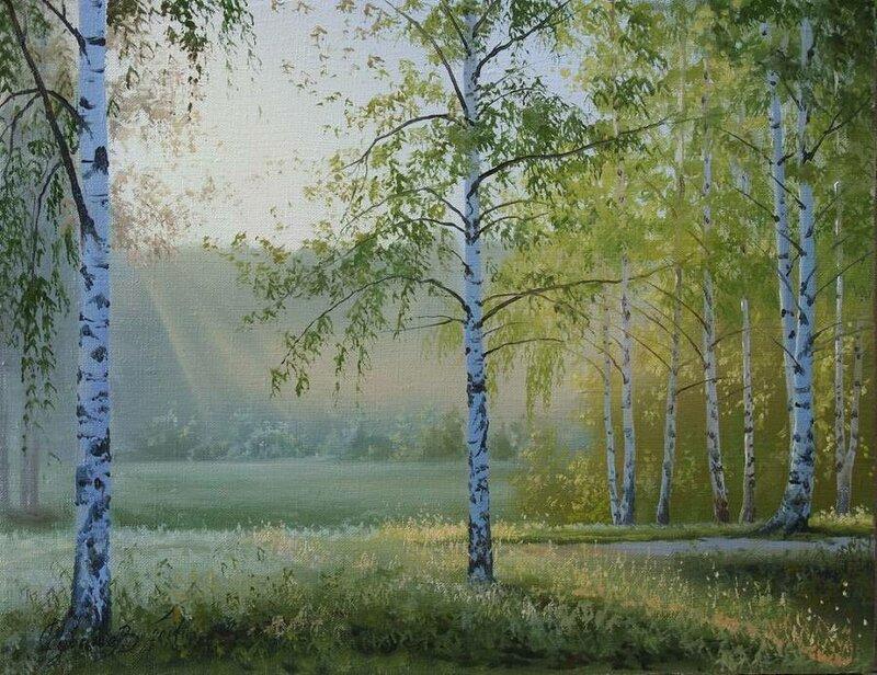 Белорусский художник Олег Чувашев. Нежные пейзажи и натюрморты 0 1110c3 15ab6e25 XL