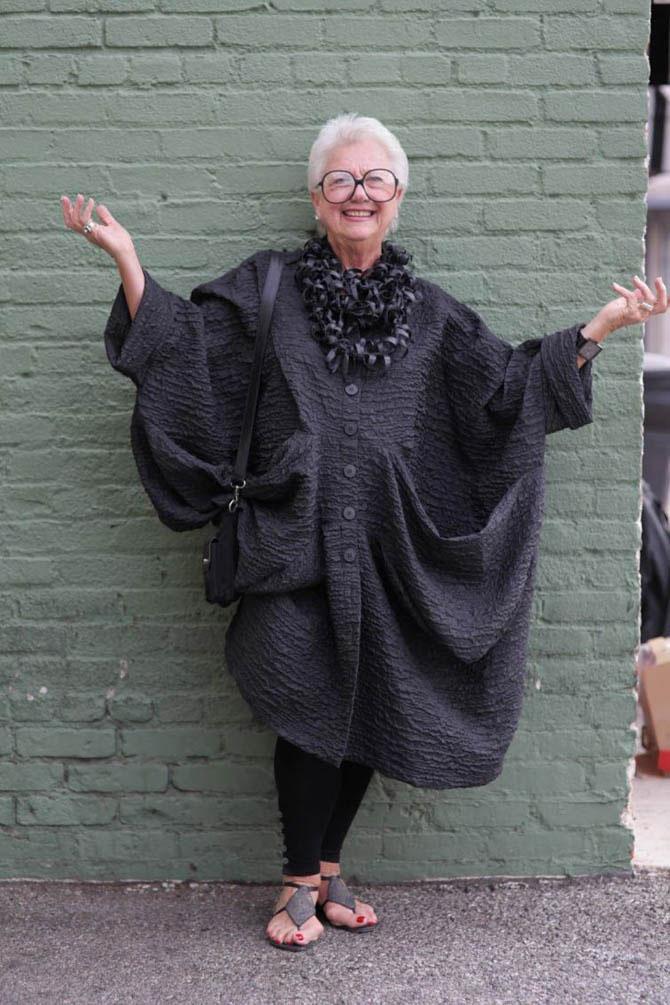 Красивые и стильные пожилые женщины Нью Йорка (фотографии)