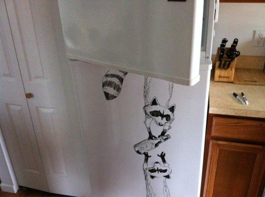 Приколы на холодильник своими руками