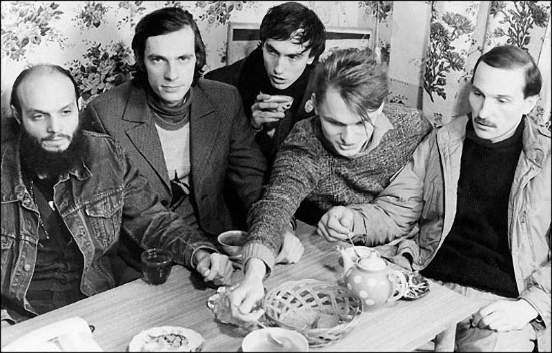 «Звуки Му», Александр Липницкий, Алексей Бортничук, Павел Хотин, Алексей Павлов, Петр Мамонов, 1988