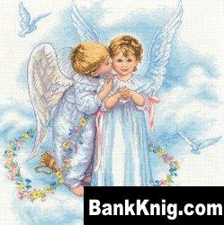 """Журнал Схема для вышивки крестиком """"Поцелуй ангела"""" jpg  3,25Мб"""