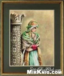 """Журнал Схема для вышивки крестиком """"Арабская женщина"""""""